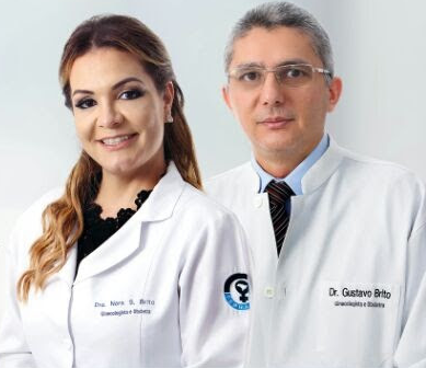 Dr Gustavo Brito (Ginecologista e obstetra) CRM 2327 / RQE 732 | Dra Nara Brito (Ginecologista e obstetra) CRM 3708 RQE 1428